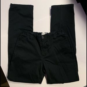 Old Navy Sz 14 Boys Black Casual pants uniform